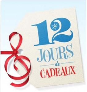12 jours cadeaux iTunes