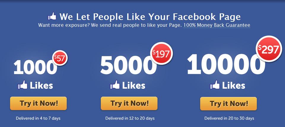 comment avoir plus de like sur une page facebook
