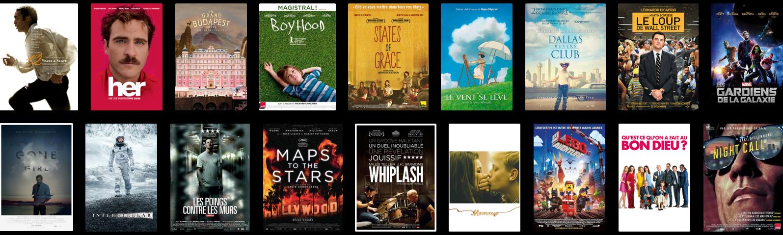 Mes meilleurs films 20...