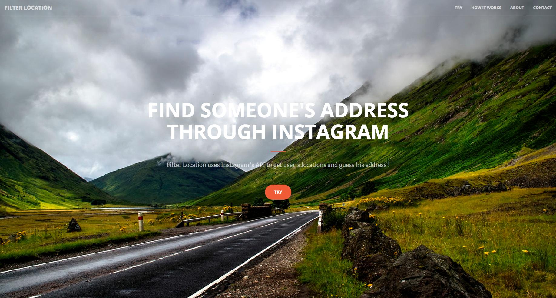 Filter Location - Service de localisation Instagram - Fotozik
